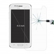 50 PCS for 4.5 inch Mobile Phones 0.26mm 9H Surface Hardness 2.5D Explosion-proof Tempered Glass Film No Retail Package