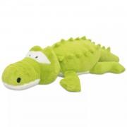 vidaXL Knuffelbeest krokodil XXL 100 cm