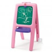 Tabla dubla pentru copii easel for two roz
