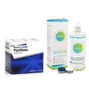 PureVision (6 linser) + Solunate Multi-Purpose 400 ml med linsetui