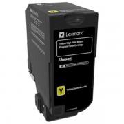 Lexmark 84C2HY0 toner amarillo