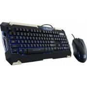 Kit Tastatura+Mouse Thermaltake Tt eSPORTS Commander Gaming Gear Combo