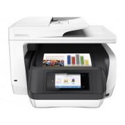 HP Officejet Pro 8720 All-in-One Printer, D9L19A, print, scan, copy, fax, ADF, duplex, tintni, color, A4, USB, LAN, WL, 4-bojni, crna, bijela, 12mj