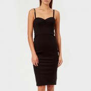 Guess Women's Jacquelyn Dress - Jet Black - S - Black