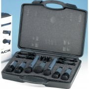 Technica Audio-Technica MBDK7 Caja para batería 1x MB6K, 4x MB5K, 2x MB4K
