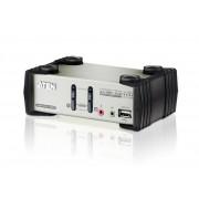 Switch KVM Aten CS1732B, nr de calculatoare conectate: 2, rezolutie: 2048x1536
