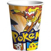 Pokemon Diamond And Pearl Paper Cups (8ct)
