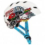 O'Neal O`Neal Dirt Lid Youth Helmet Junkie Casco per bici (S, bianco/grigio)