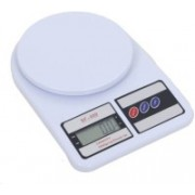Zeom High Quality Digital Electronic SF 400 7kg Kitchen Weighing Machine Weighing Scale (Off-White) Weighing Scale(White)