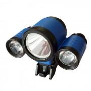 blanco neutro 4-Modo resistente al agua nuevo estilo BL-3 LED de luz LED de bicicletas