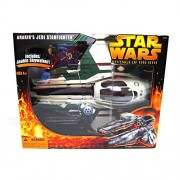 Star Wars Anakin's Jedi Starfighter Green ROTS with Action Figure