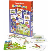 Puzzle Castorland education 54 de piese-animale domestice