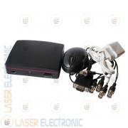 Mini DVR AHD Digitale 4CH Canali Slot SD Card