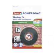 Banda de montaj tesa® Powerbond pentru exterior 19 mm x 1,5 m