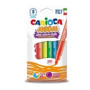 Carioci fluorescente, 8 culori/set CARIOCA Neon