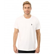 US Polo Assn Crew Neck Small Pony T-Shirt White