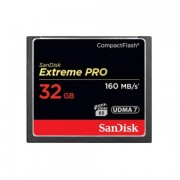 CF Card, 32GB, SanDisk Extreme Pro, VPG-65, 160 Mb/s (CFXPS-032G-X466)