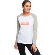 Roxy Doamnelor t-shirt About Last Dance A Bright White ERJZT04684-WBB0 M