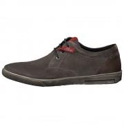 Pantofi piele intoarsa barbati - gri, s.Oliver - 5-13605-21-Grey
