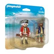 Playmobil Pirates, Set 2 figurine - pirat si soldat