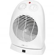 Clatronic HL 3377 - Calefactor, 2 niveles de temperatura, oscilante, función ventilador, 2000 W, color blanco