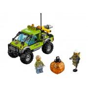 LEGO - City Volcano Explorers - Camion de explorare a vulcanului - 60121