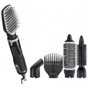 Електрическа четка за коса Rowenta CF8361D0, 1200W, 5 аксесоара, черна