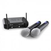 Microfon fără fir set Skytec STWM722 cu 2 mic fără fir UHF (SKY-179.170)