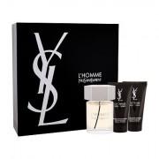 Yves Saint Laurent L´Homme confezione regalo Eau de Toilette 100 ml + balsamo dopobarba 50 ml + doccia gel 50 ml uomo