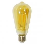 LAMPADINA LED E27 FILAMENTO 8W BIANCO CALDO AMBRA VT-1968-LED4421