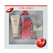 Shiseido Ultimune Power Infusing Concentrate Kit, 30ml Ultimune Power Infusing Concentrate + 50ml Benefiance Extra Creamy Cleansing Foam + 7ml Bio-Performance Advanced Super Revitalizing Cream