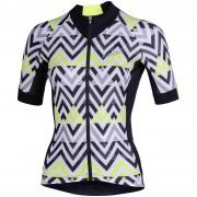 Nalini Raffinata Women's Short Sleeve Jersey - XL - Black/Fuchsia
