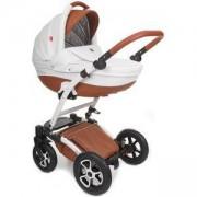 Бебешка количка Tutek Torero Eco3 White Brown, 133358271