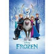 Disney Poster Frozen cast 61 x 91,5 cm - Action products