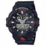 reloj de pulsera digital casio g-shock GA-700-1A-negro + rojo