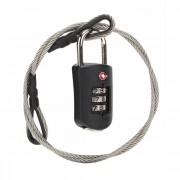 Pacsafe Prosafe 1000 TSA-Kofferslot 4 cm black