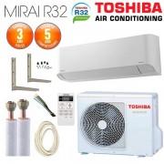 TOSHIBA Pack Climatiseur à faire poser Mural TOSHIBA Seiya R32 RAS-B10J2KVG-E