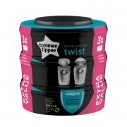 Tommee Tippee Sangenic Twist&Click komplet od 3 kazete