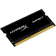 HyperX SO-DIMM 8 GB-os DDR3L 1600 MHz-es Impact CL9 kettős feszültség
