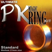Ultimate Magic Pk Ring Kit Standard With Medium Silver Ring By Magic Makers