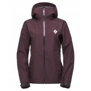 Black Diamond W Liquid Point Shell - Bordeaux - Vestes de Pluie XL