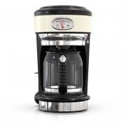 Cafetera Goteo 8 tazas Semi Automatica Retro Style Russell Hobbs Cream