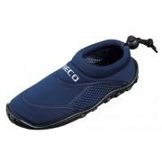 Beco Donkerblauwe neopreen surf en waterschoen voor kinderen