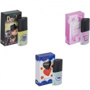 Carrolite Combo Devdas-Rose-Younge Heart Blue Perfume