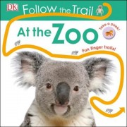 Follow the Trail at the Zoo, Hardcover