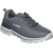 Mr.SHOES MR.SHOES WX0352-3 GRAY PERFORMANCE MEN'S GO WALK 3 FITKNIT LACE-UP WALKING SHOE Running Shoes For Men(Grey)