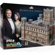 Wrebbit 3D Downton Abbey Jigsaw Puzzle - 890 Pieces