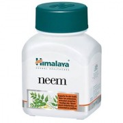 Himalaya Neem (Pack of 2) General Wellness Tablets - 60 Tablets each