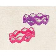 Amscan Barbie Rubber Bracelet Party Favors Violet/Magenta 1 1/8 x 1/16