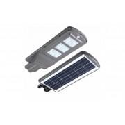 Proiector Stradal LED 60 W, Panou Solar, Senzor Miscare, Senzor Luminozitate